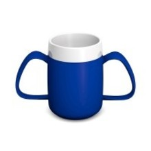 ORNAMIN Ornamin Conical Ergo Cup - Blue