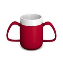 Able2 Ornamin  Conische ErgoBeker - Rood