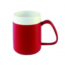 Able2 Ornamin Conical Cup - handle size - Red