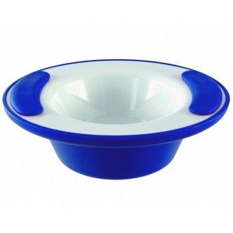 Able2 Ornamin Warmhoudkom - Wit/Blauw