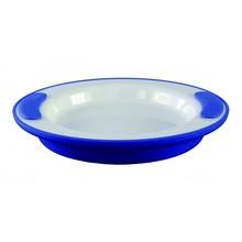Able2 Ornamin Kochplatte - Weiß / Blau