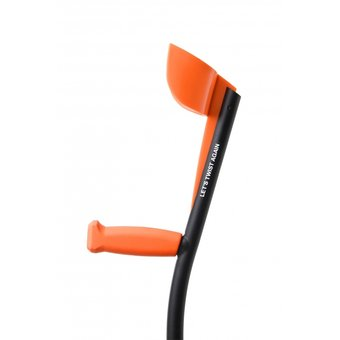 Able2 TrustCare Elleboogkrukken - Oranje/Zwart