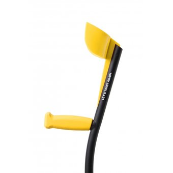 Trustcare TrustCare Elbow Crutches - Yellow / Black