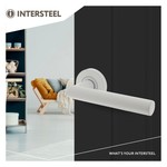 Door fittings Living White collection from Intersteel