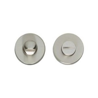 Intersteel Rosette WC-Verschluss / Badverschluss 8mm rund - Nickel matt - Intersteel