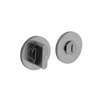 Olivari Olivari toilet lock / bathroom lock round - chrome mat - by Intersteel