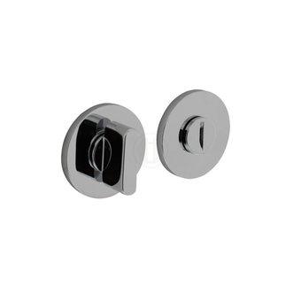 Olivari Olivari toilet lock / bathroom lock round - chrome - by Intersteel