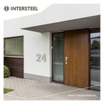 House number XL and XXL format from Intersteel