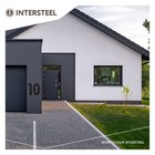 House number XL 30cm from Intersteel
