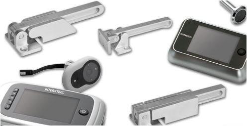 Digitale deurcamera  en Kierstandhouder van Intersteel