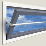 SecuBar Projecting window 25-35cm in the day from SecuBar