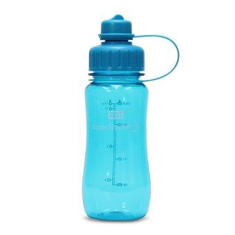 Brix WaterTracker - Trinkflasche 0,5 Liter - Aqua von Brix