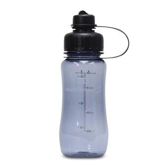 Brix WaterTracker - Trinkflasche 0,5 Liter - Grau von Brix