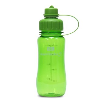 Brix WaterTracker - Drinkfles 0,5 liter - Groen van Brix