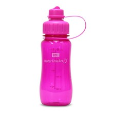 Brix WaterTracker - Drinkfles 0,5 liter - Roze van Brix