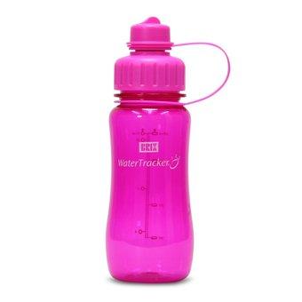Brix WaterTracker - Trinkflasche 0,5 Liter - Pink von Brix