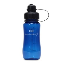Brix WaterTracker - Drinkfles 0,5 liter - Blauw van Brix