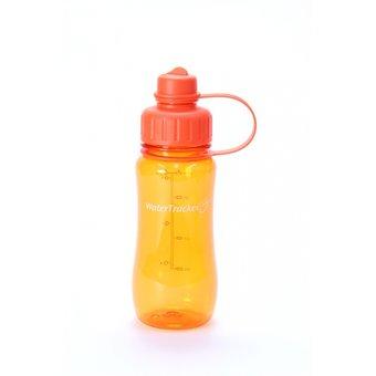 Brix WaterTracker - Trinkflasche 0,5 Liter - Orange von Brix