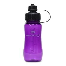 Brix WaterTracker - Drinking bottle 0.5 liter - Purple from Brix