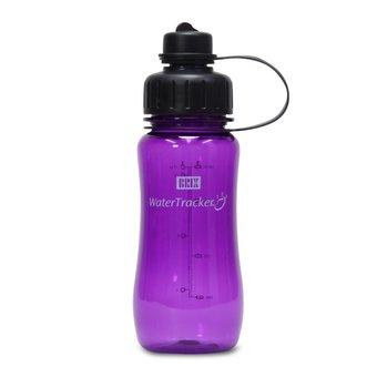 Brix WaterTracker - Drinkfles 0,5 liter - Paars  van Brix