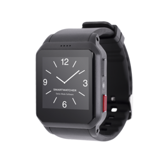 SmartWatcher Notruf Watch Motion Black - Smartwatcher