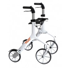 Trustcare Let's Fly rollator - wit + boodschappentas - TrustCare