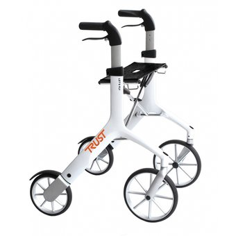 Trustcare Let's Fly walker - white - with shopping bag - TrustCare