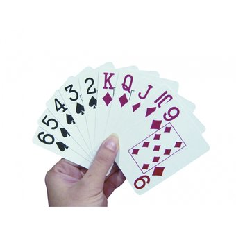 Able2 Playing cards large logo - extra large print