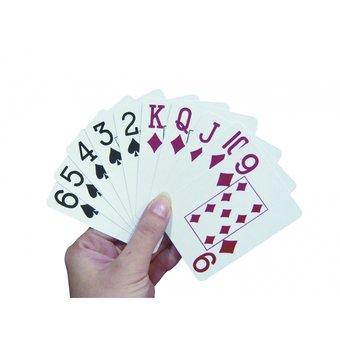 Able2 Speelkaarten groot logo - extra grote opdruk