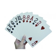 Able2 Speelkaarten extra groot 10 x 15 cm