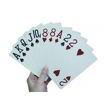 Able2 Speelkaarten extra groot 10 x 15cm