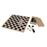 Able2 Checkerboard large - wood
