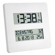 Able2 Radio Controlled Clock with temperature display