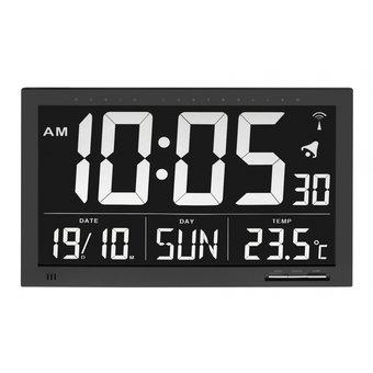 Able2 Funkuhr mit Temperatur XL