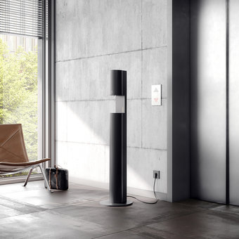 Keuco Disinfection column - on electricity - in anthracite - for liquid disinfectant - Keuco