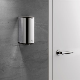 Keuco Desinfectie-dispenser - op batterijen - in chroom - voor vloeibare desinfectiemiddel - Keuco