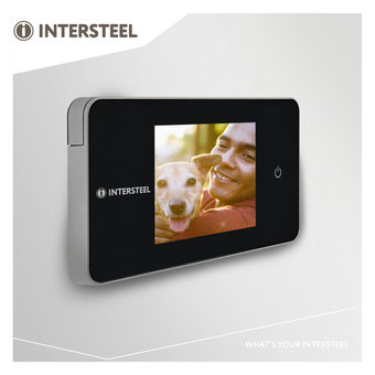 Intersteel Digital-Tür-Kamera Basic / Digital-Tür-Spion Grund Inter Stahl