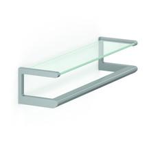 NORMBAU Glass shelf 650mm with handle - Cavere Normbau