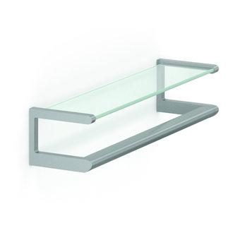 NORMBAU Glass shelf 650mm with handle Cavere Normbau
