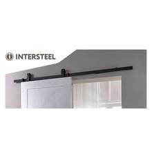 Intersteel Schiebetürsystem Basic Top Matt Black von Intersteel