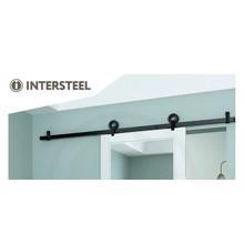 Intersteel Sliding door system Modern Top Matt Black from Intersteel