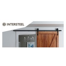 Intersteel Sliding door system Classic Matt Black from Intersteel