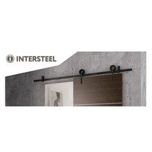 Intersteel Schiebetürsystem Modern Matt Black von Intersteel