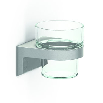 NORMBAU Bekerhouder met glazen beker Cavere Normbau