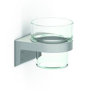 NORMBAU Getränkehalter mit Glasbecher Cavere Normbau