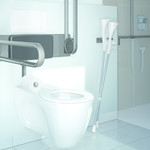 Toilet accessories Cavere Care Normbau