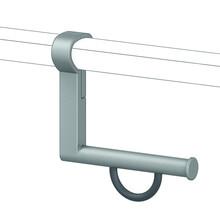 NORMBAU Toilettenpapierhalter für Stützgriffe Cavere Normbau