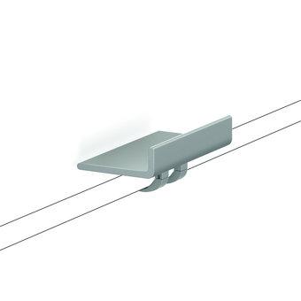 NORMBAU Planchet - legbordje afneembaar voor douchegreep Cavere Normbau