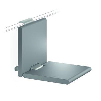 NORMBAU Klappbarer Duschsitz 450mm - für Duschgriff Cavere Normbau