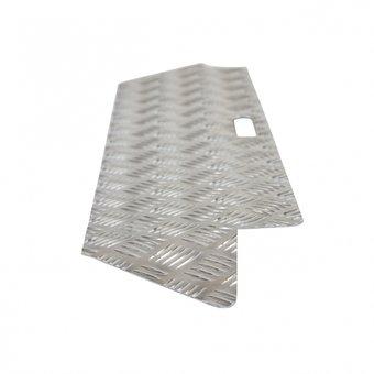 RICMAR Schwellenhilfe 1 Aluminium - Höhenunterschied 0 - 3 cm - 250 kg - Ricmar